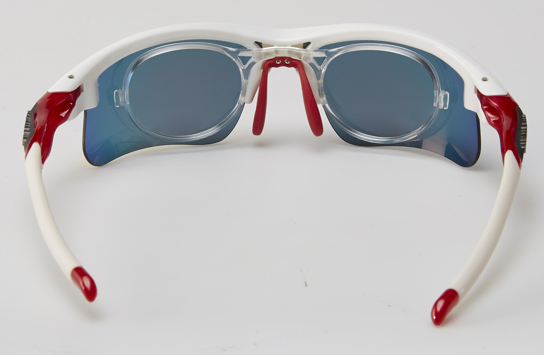 clip optico feel morys ms-047 blanca roja