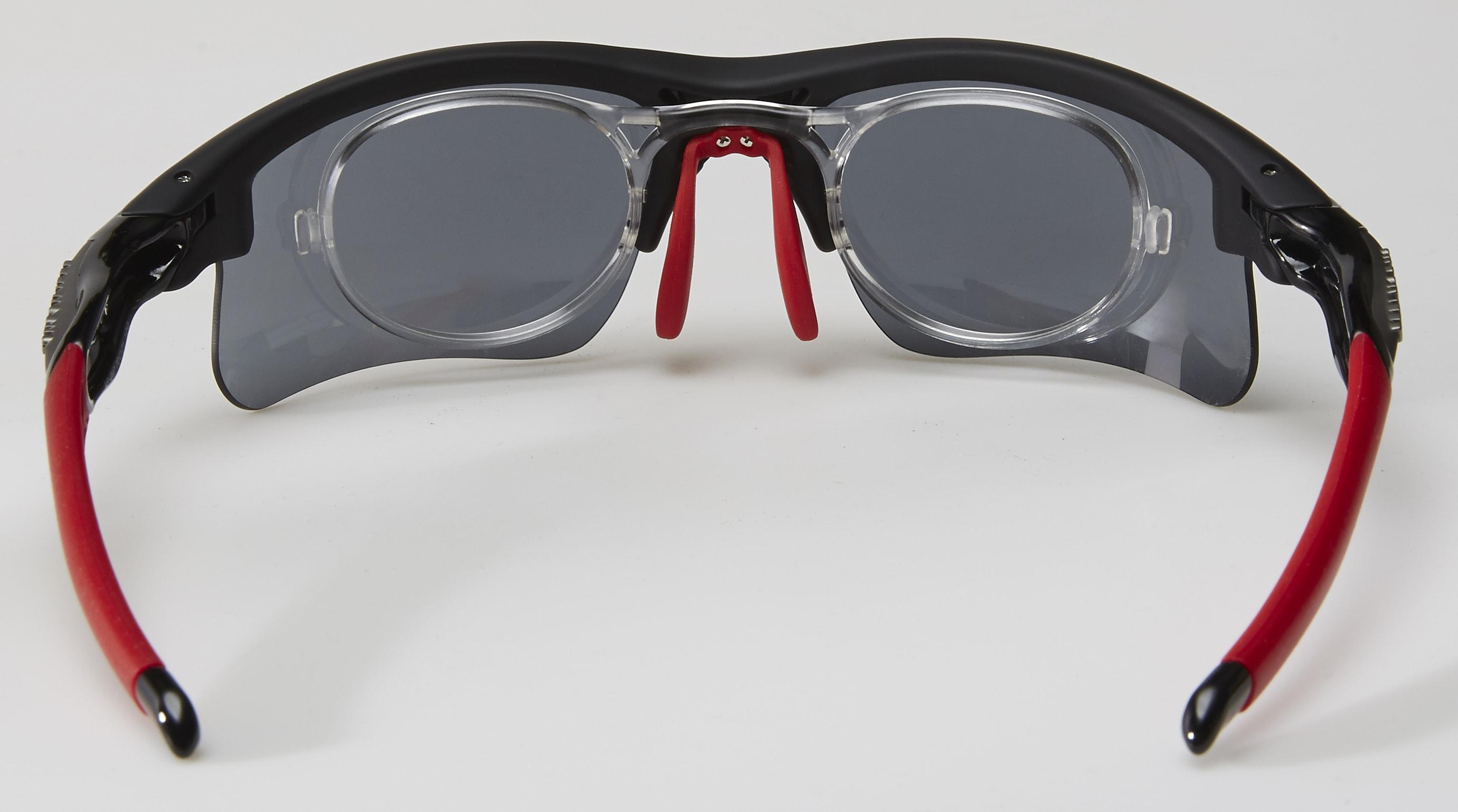 clip optico feel morys ms-047 negra roja