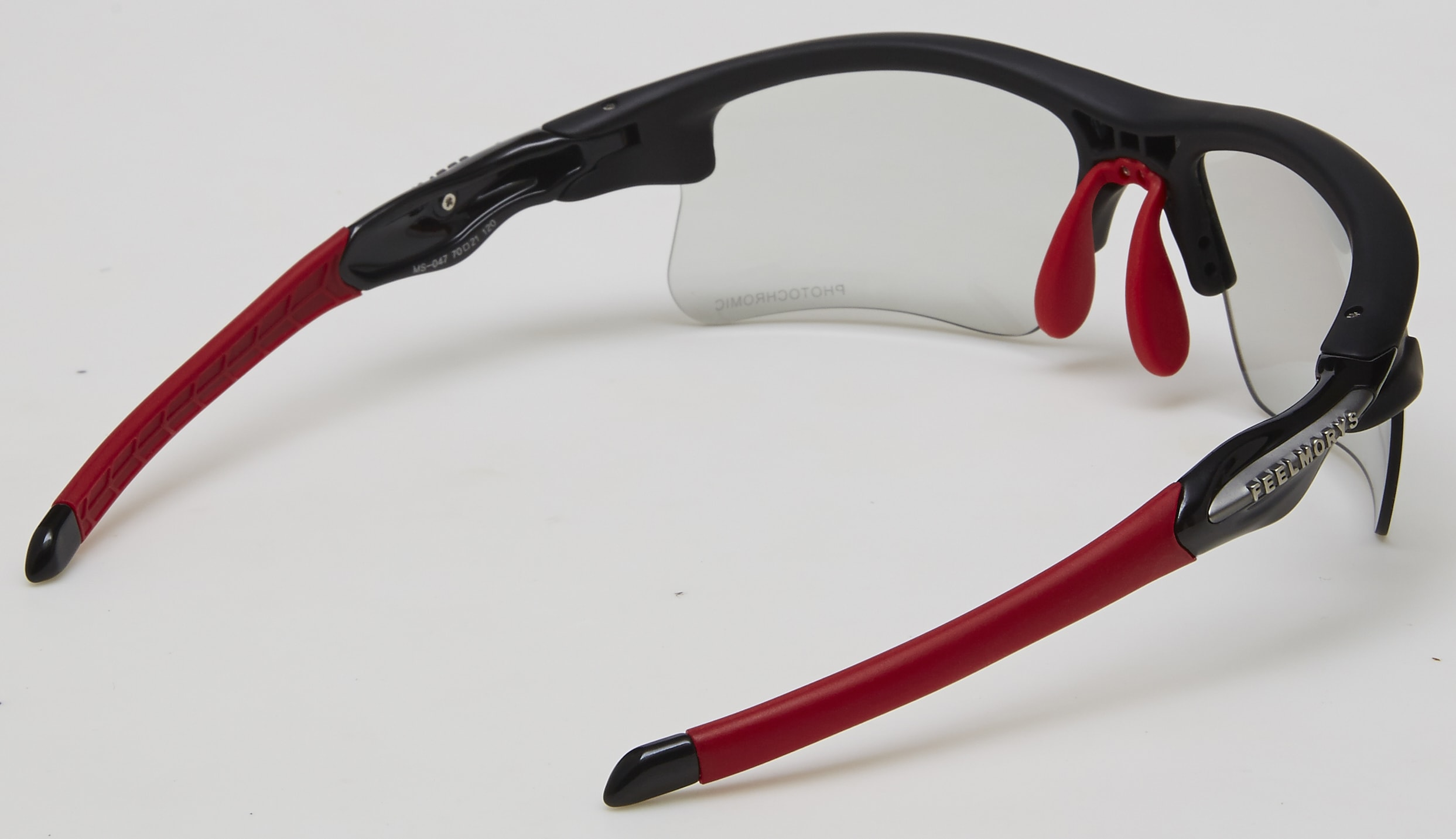 trasera feel morys ms-047 fotocromatica negra roja