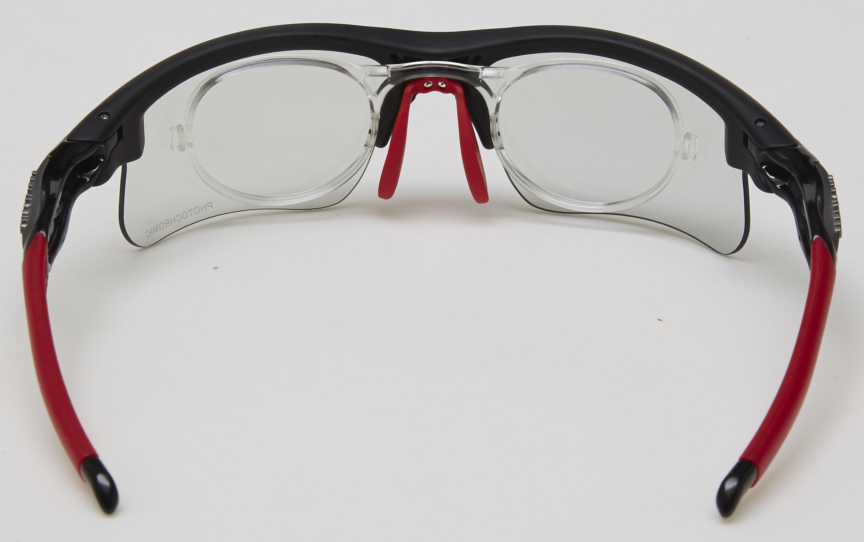 clip optico ms-047 negra roja