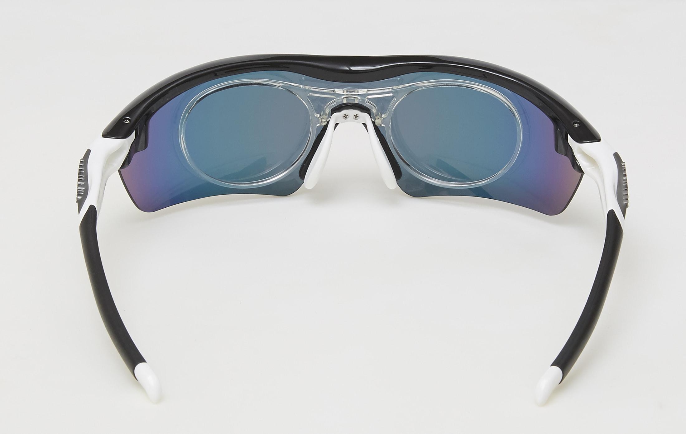 clip optico feel morys ms-048 negra blanca