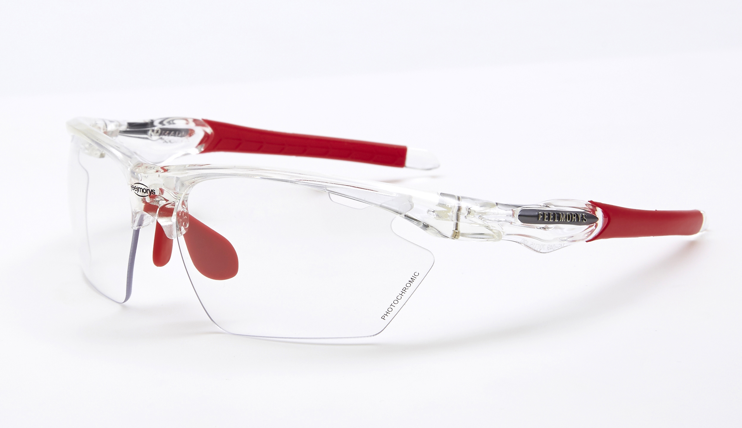 lateral feel morys ms-049 fotocromatica blanca transparente