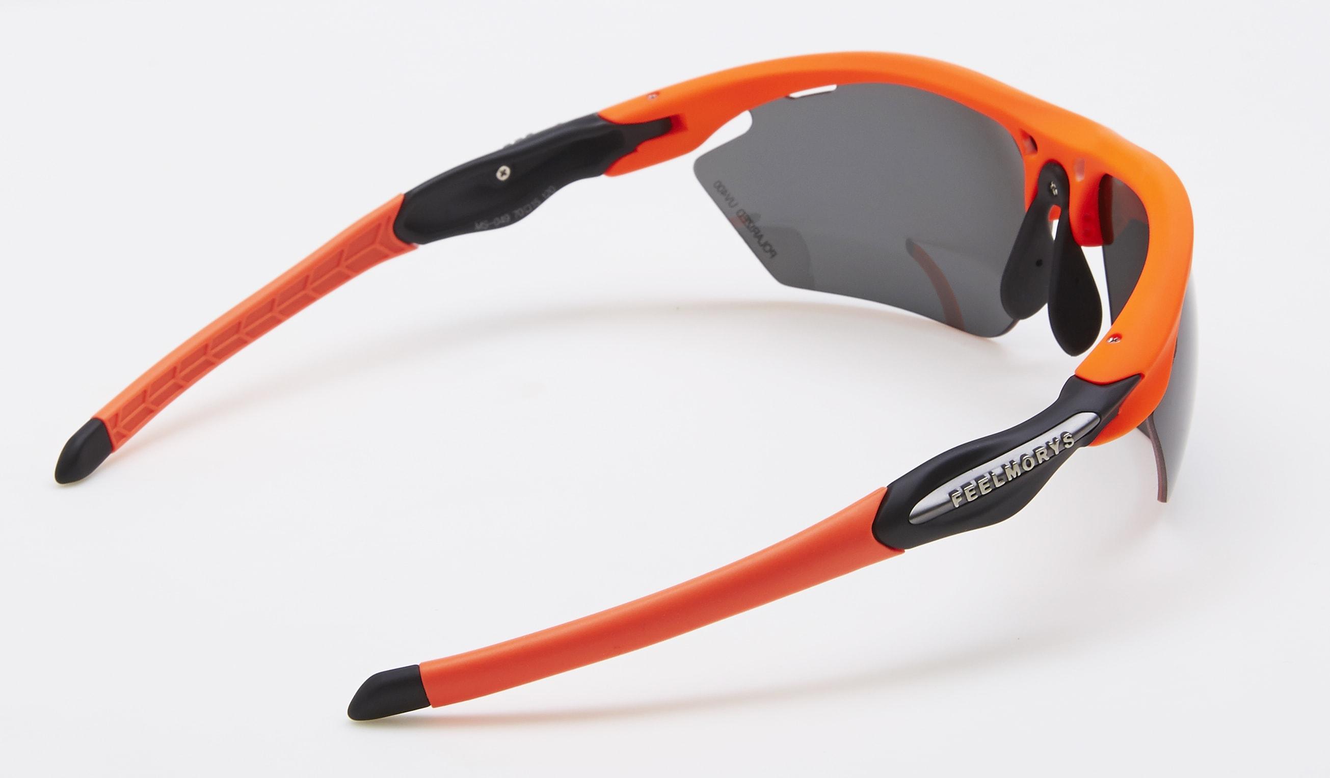 trasera feel morys ms-049 negra orange trans polarizada
