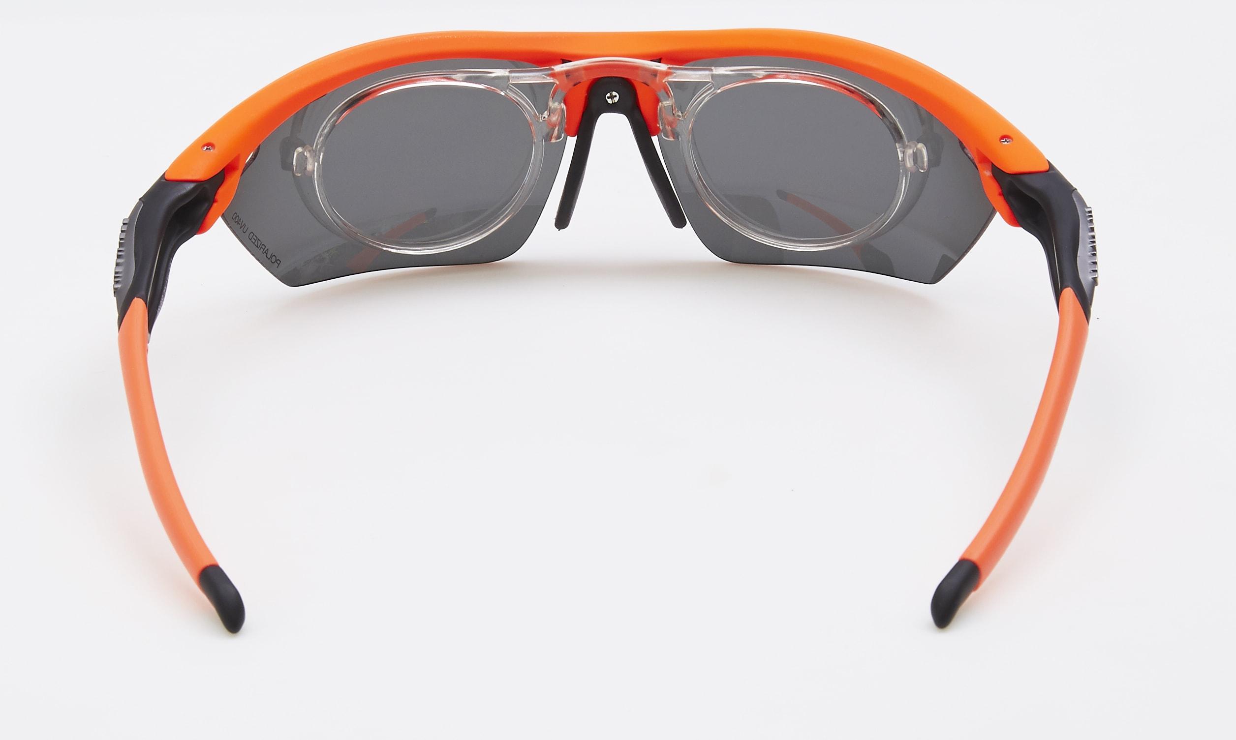 clip optico feel morys ms-049 naranja polarizada